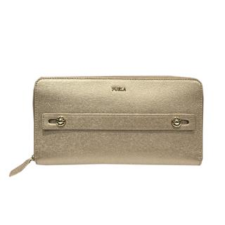 FURLA 〈フルラ〉 Round zipper long wallet
