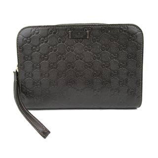GUCCI 〈グッチ〉 Micro Guccissima second Clutch bag