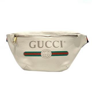 GUCCI〈グッチ〉Gucci print belt bag body bag waist pouch