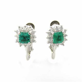 JEWELRY 〈ジュエリー〉 Emerald earrings