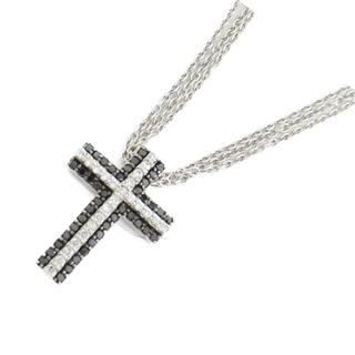 Ponte Vecchio 〈ポンテヴェキオ〉 Cross necklace black diamond