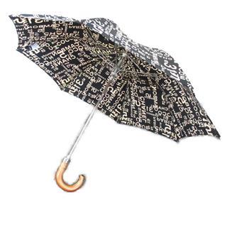 CHANEL〈シャネル〉folding umbrella iconic logo