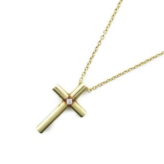 TIFFANY&CO 〈ティファニー〉 Cross 1P necklace
