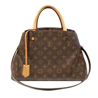 LOUIS VUITTON 〈ルイヴィトン〉 Montaigne MM 2way shoulder tote bag