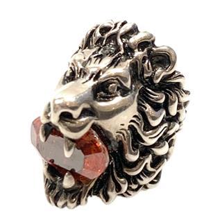 GUCCI〈グッチ〉Lion motif ring