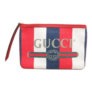 GUCCI 〈グッチ〉 Clutch Second bag pouch zip
