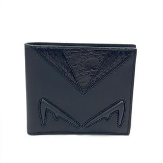 FENDI〈フェンディ〉Bag Bugs Monster Bi-Fold Wallet