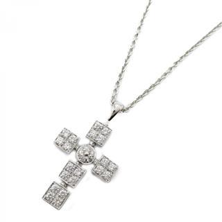 BVLGARI〈ブルガリ〉Luci Araten Cross Necklace