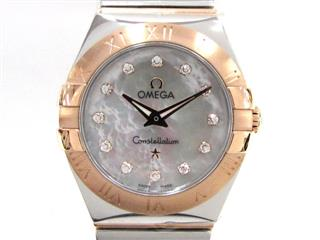 OMEGA 〈オメガ〉 Constellation 12P Diamond Watch