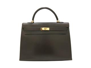 HERMES 〈エルメス〉 Kelly 35 2Way Handbag Outer Sewing