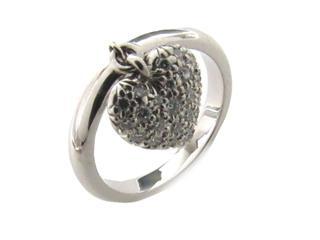 TIFFANY&CO〈ティファニー〉Heart Pave Diamond Ring