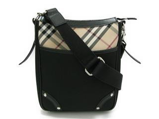 BURBERRY 〈バーバリー〉 Burberry Check Shoulder bag