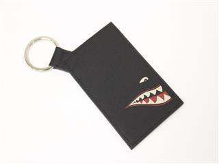 HERMES〈エルメス〉Pass case shark Bag charm