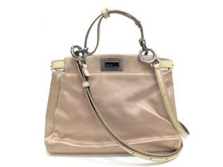 FENDI〈フェンディ〉Peekaboo 2way shoulder bag