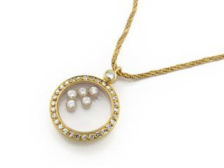 Chopard〈ショパール〉Happy Diamond Necklace
