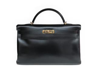 HERMES 〈エルメス〉 Kelly 40 Shoulder hand Bag (GHW)