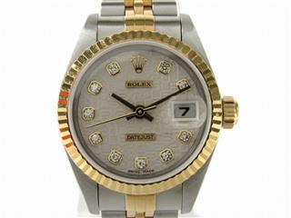 ROLEX〈ロレックス〉Datejust Watch 10P Diamond