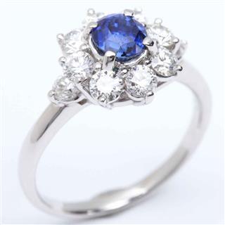 JEWELRY〈ジュエリー〉Sapphire Diamond Ring