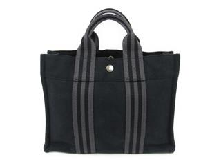 HERMES 〈エルメス〉 Fur Toe Tote PM Tote Bag