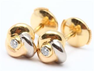 Cartier〈カルティエ〉Trinity diamond earrings