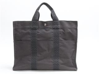 HERMES 〈エルメス〉 her line tote MM hand bag