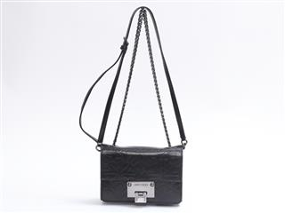 JIMMY CHOO 〈ジミーチュウ〉 Chain shoulder bag