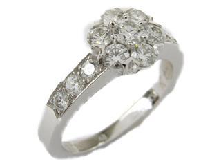 Van Cleef & Arpels〈ヴァンクリーフ&アーペル〉Fleurette diamond ring
