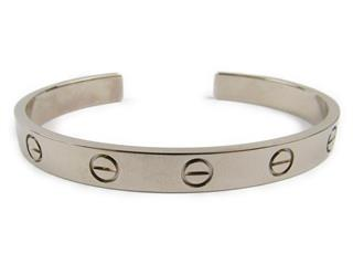Cartier 〈カルティエ〉 Love Open Bracelet Bangle