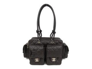 CHANEL〈シャネル〉Cambon Line Multi Pocket Shoulder Bag