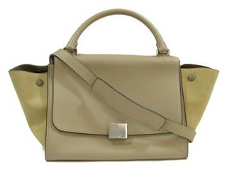 CELINE 〈セリーヌ〉 Trapes 2 Way Shoulder Bag