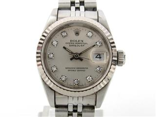 ROLEX 〈ロレックス〉 Datejust 10P Diamond Watch