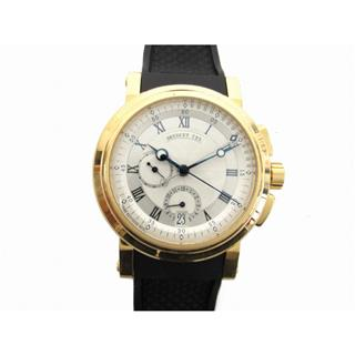 Breguet 〈ブレゲ〉 Marine chronograph back skeleton watch