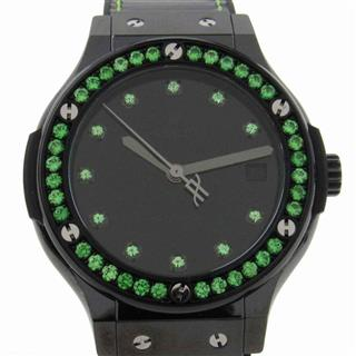 HUBLOT 〈ウブロ〉 Classical Fusion Shiny Ceramic Green Watch