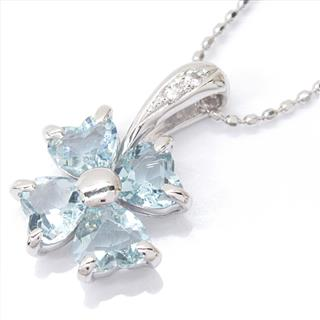 JEWELRY 〈ジュエリー〉 Aquamarine Diamond Necklace