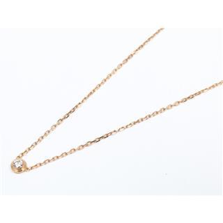 Cartier〈カルティエ〉Diaman Legend 1P Diamond Necklace