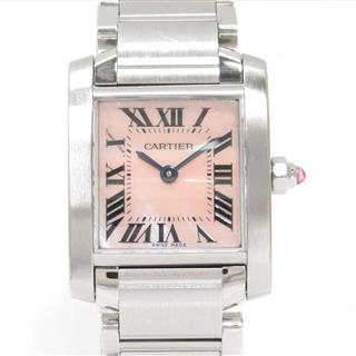 Cartier 〈カルティエ〉 Tank Francaise SM Ladies Watch