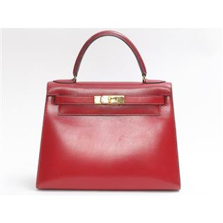 HERMES 〈エルメス〉 Kelly 28 hand bag outside stitched