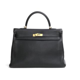 HERMES 〈エルメス〉 Kelly mou 35 inside stitched hand bag