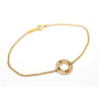 TIFFANY&CO 〈ティファニー〉 Atlas medium bracelet