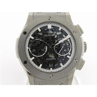 HUBLOT 〈ウブロ〉 Aero Fusion Chronograph All White Watch