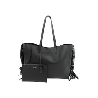 SAINT LAURENT 〈サン・ローラン〉 Sac Shopping Fringe Shoulder Tote Bag