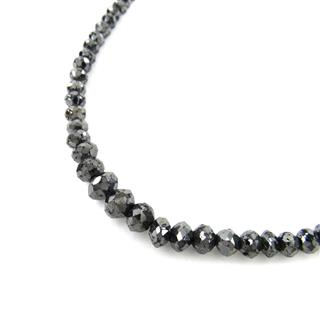 JEWELRY 〈ジュエリー〉 Black Diamond Necklace