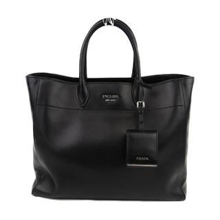 PRADA 〈プラダ〉 City calf 2way shoulder tote shopping bag