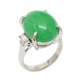 JEWELRY 〈ジュエリー〉 Jade diamond ring ring