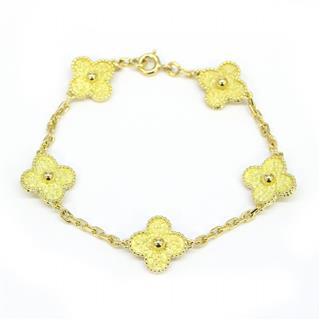Van Cleef & Arpels〈ヴァンクリーフ&アーペル〉Alhambra Bracelet Bangle