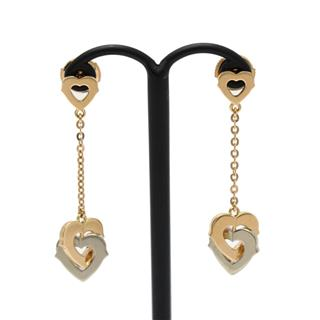 Cartier 〈カルティエ〉 Double Heart Earrings