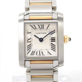 Cartier〈カルティエ〉Tank Francaise SM Watch Watch