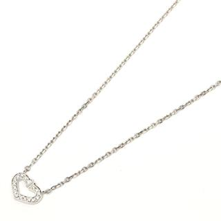 Cartier 〈カルティエ〉 C Heart Necklace Diamond Necklace