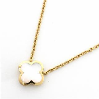 Van Cleef & Arpels〈ヴァンクリーフ&アーペル〉Pure Alhambra Necklace