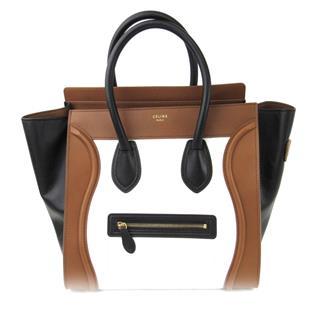 CELINE〈セリーヌ〉Luggage Mini Shopper Tote Hand Bag